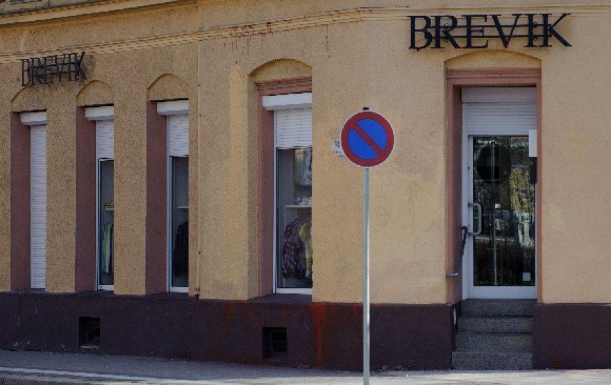 Parduotuvė Vokietijoje su pasipiktinimą sukėlusiu pavadinimu