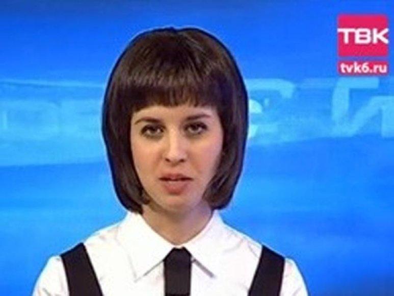 Televizijos vedėja Marija Buchtujeva