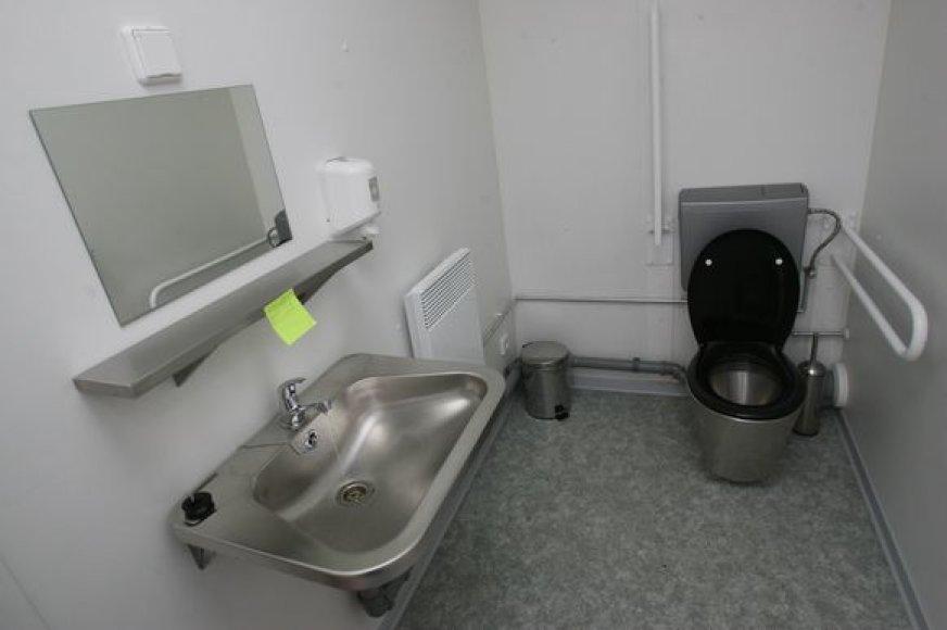 """Kauno valdžia neseniai paprašė teismo atverti """"auksinio tualeto"""" duris."""