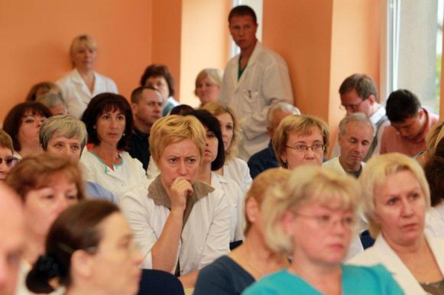KKL medikų bendruomenę sutrikdė savivaldybės sprendimas skirti laikinąjį direktorių iš kitos gydymo įstaigos.