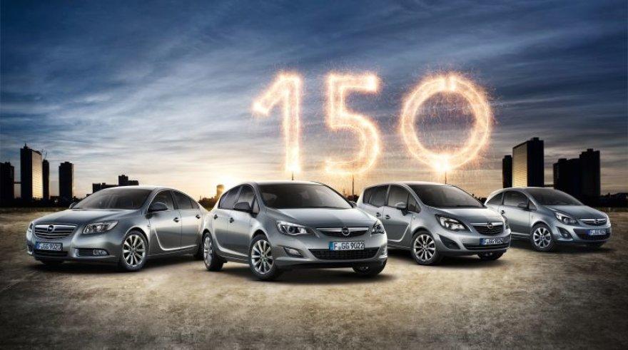 """""""Opel"""" 150 metų jubiliejus"""