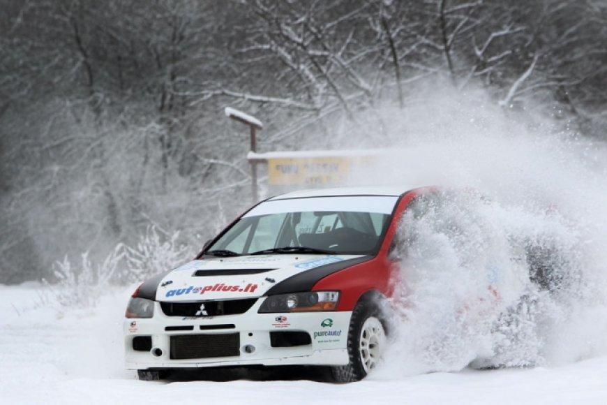 """Autoplius Rally Team"" ""Mitsubishi Lancer Evo IX"""