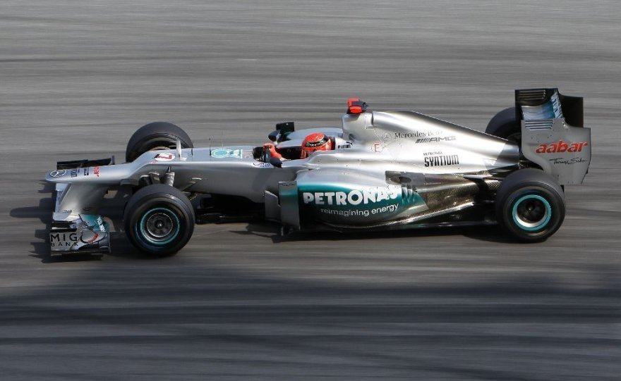 "Michaelis Schumacheris, ""Mercedes"""