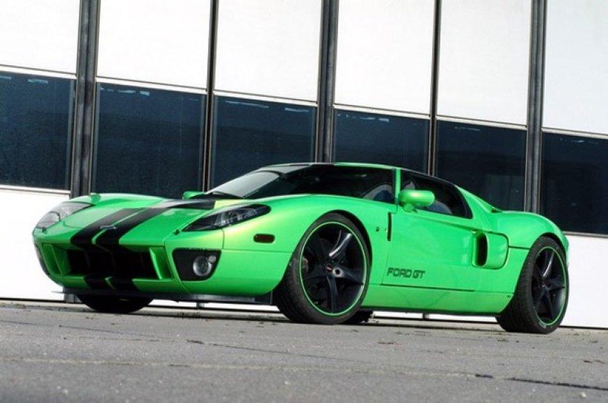 """""""Ford GT"""" bus varomas ir elektra?"""