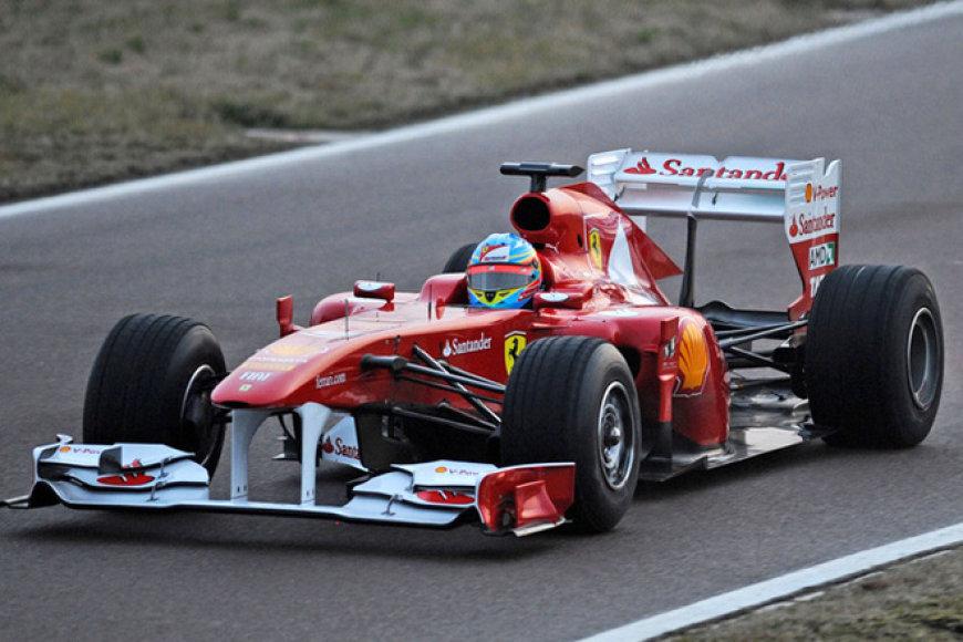 """Ferrari"" bolidas ""F150th Italia"""