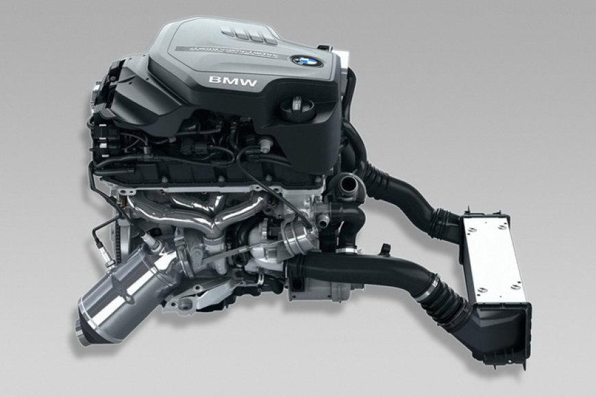 Naujasis BMW 4 cilindrų variklis