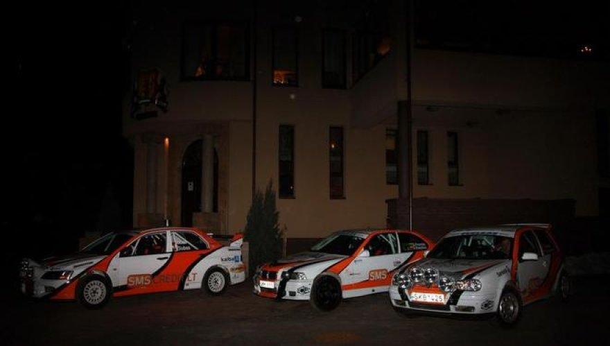 """SMSCREDIT.LT Baltic Racing Team"""