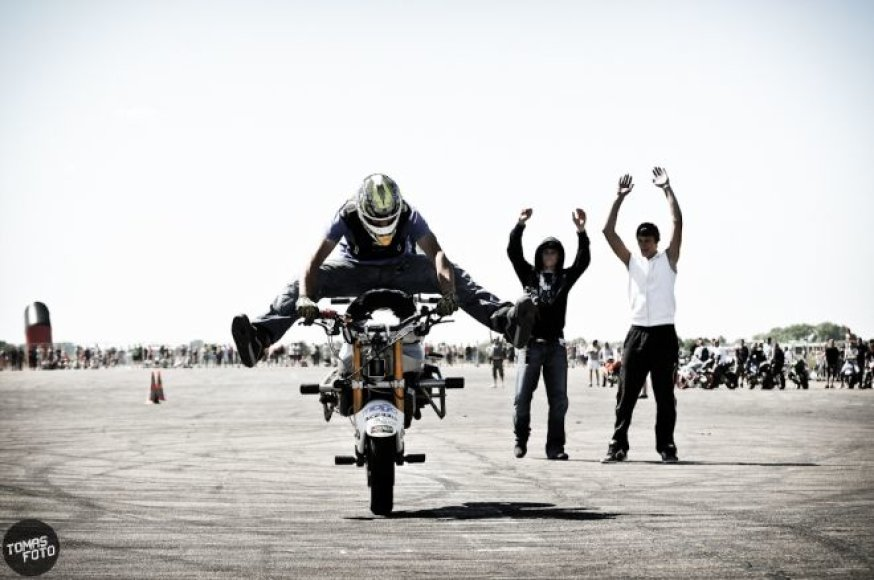 "Akimirka iš ""Bike Show Millennium 2011"""