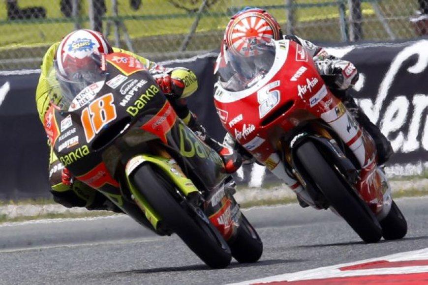 MotoGP lenkynių akimirka