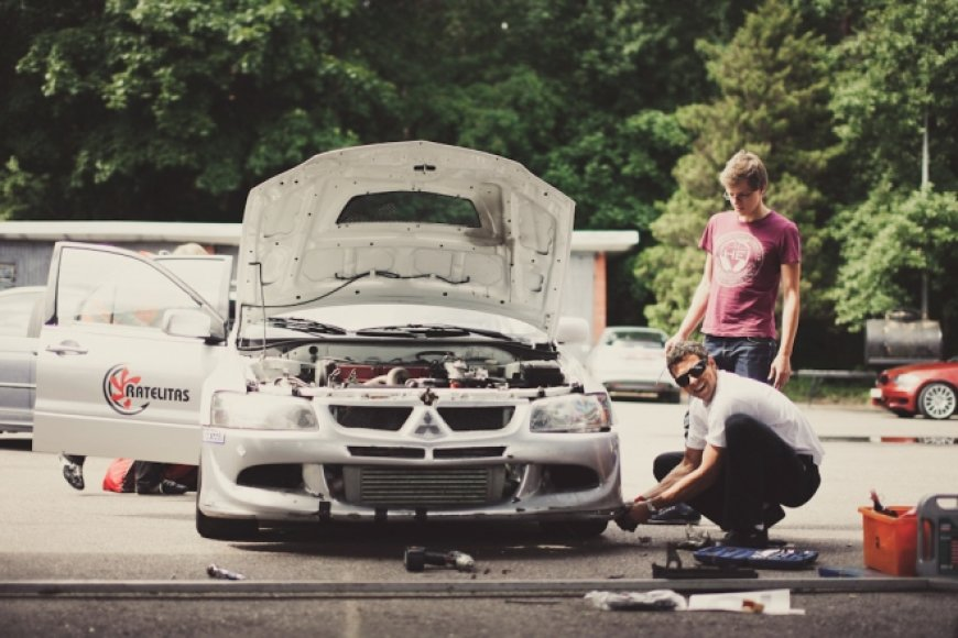 "Jonas Poškus, ""Mitsubishi Lancer Evo"""