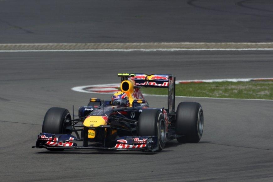 """Markas Webberis, """"Red Bull Racing"""""""