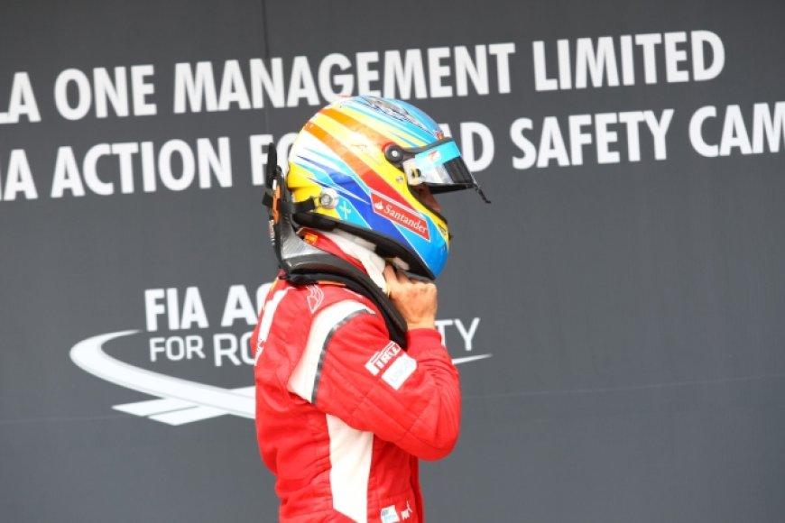 """Fernando Alonso, """"Ferrari"""""""