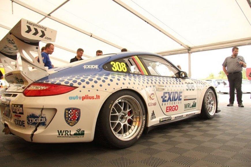 "Jono Gelžinio (""Juta Racing"") ""Porsche 911 GT3"""