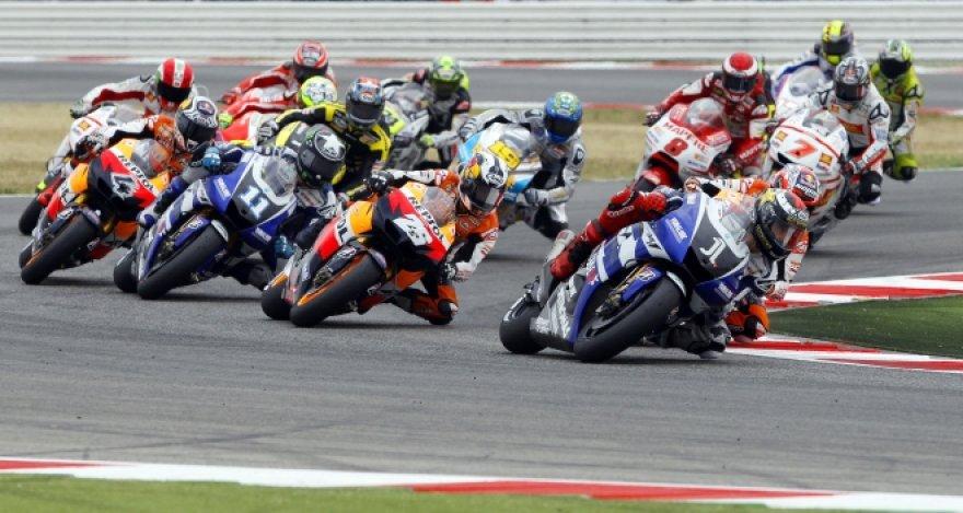 """""""MotoGP"""" lenktynės Misano žiede Italijoje"""