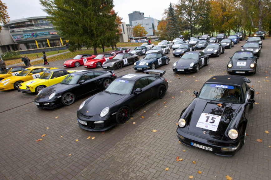 """Porsche klubas Lietuva"" sezono uždarymas"