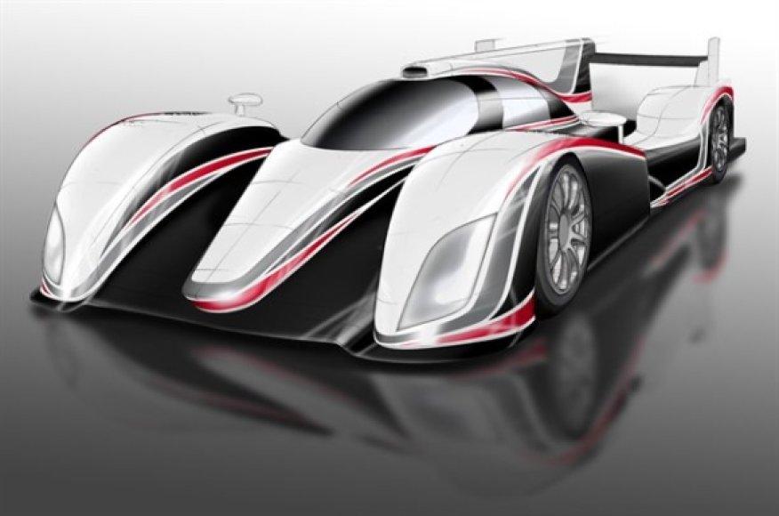 """Toyota"" LMP1 klasės bolidas"
