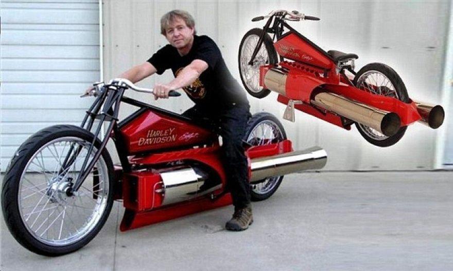 """Reaktyvinis """"Harley Davidson"""""""