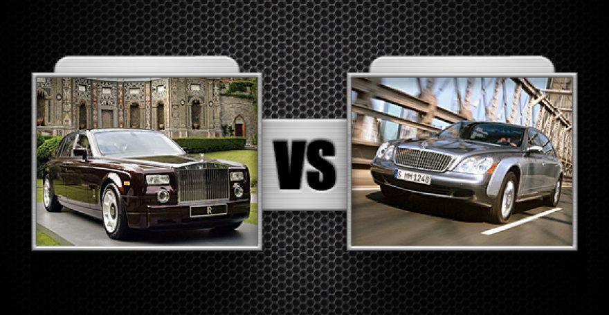 "Kova Nr. 7 ""Rolls-Royce Phantom"" ir ""Maybach 62S"""