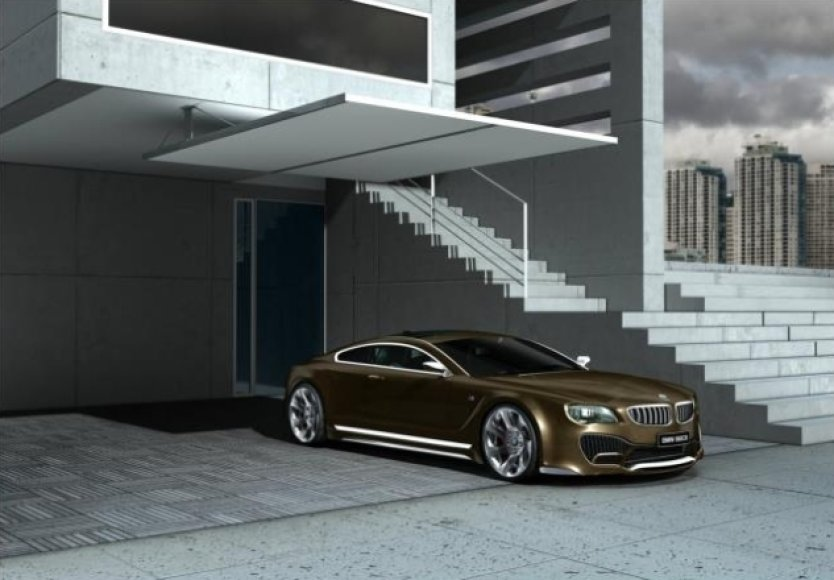 """CVK Design"" sukurtas BMW 8 konceptas"