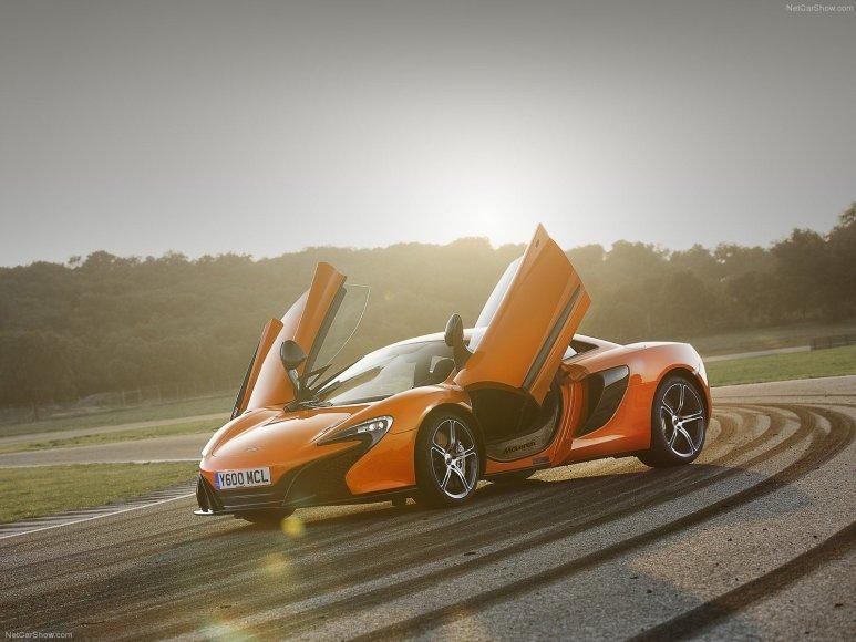 """3. """"McLaren 650S"""""""