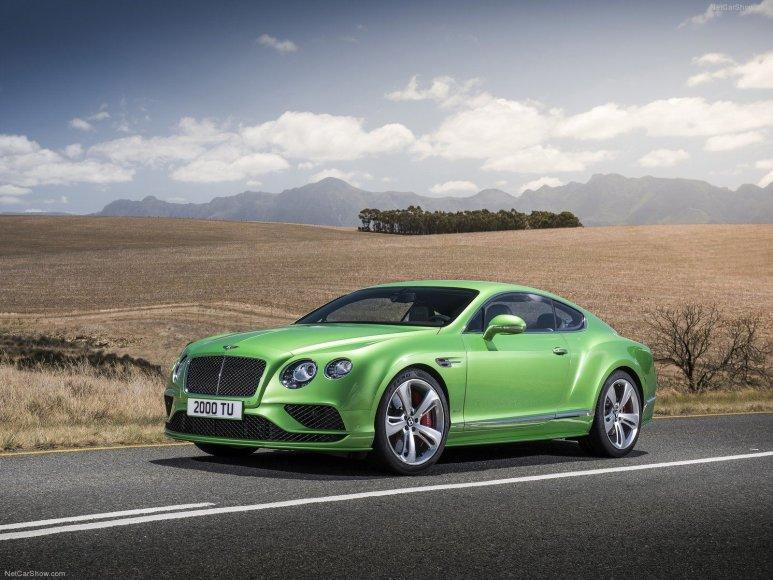 """8. """"Bentley Continental GT Speed"""""""