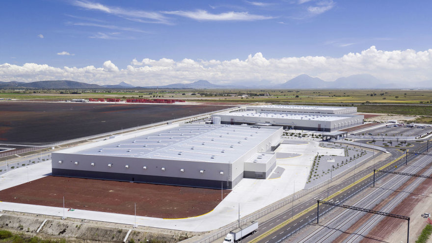 """""""Audi"""" nuotr./""""Audi"""" gamykla Meksikoje"""