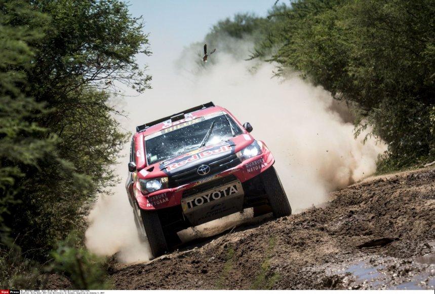 """""""Scanpix""""/""""SIPA"""" nuotr./Dakaro ralio 2 greičio ruožas"""