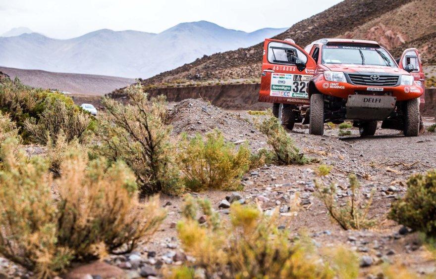 Andriaus Lauciaus nuotr./Dakaro ralio trečias etapas