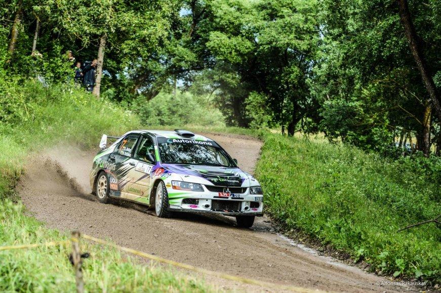"""Alfonso Rakausko nuotr./Giedrius Notkus """"300 lakes rally"""" varžybose"""
