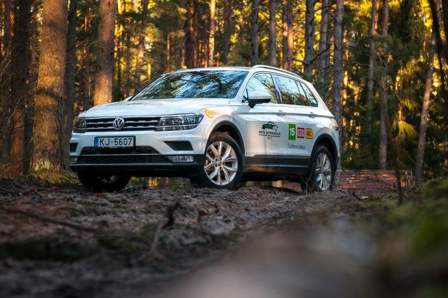 """Vytauto Pilkausko nuotr./""""Volkswagen Tiguan"""""""