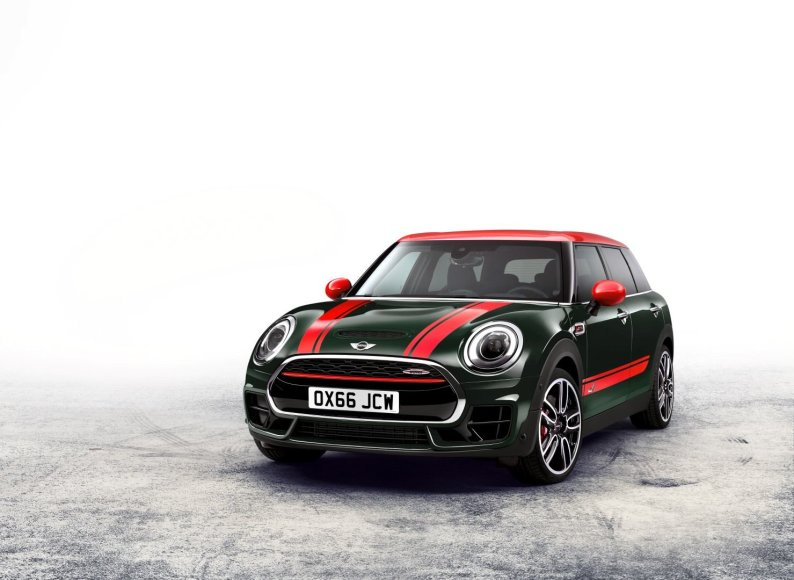 "MINI nuotr./""MINI John Cooper Works Clubman"""