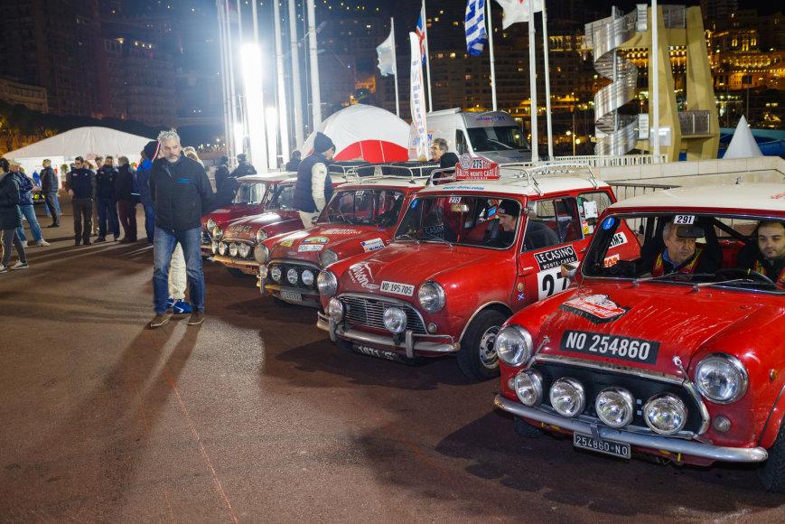 """Ryčio Petrausko/Sunpic.lt nuotr./Paskutinė """"Rallye Monte-Carlo Historique"""" diena"""