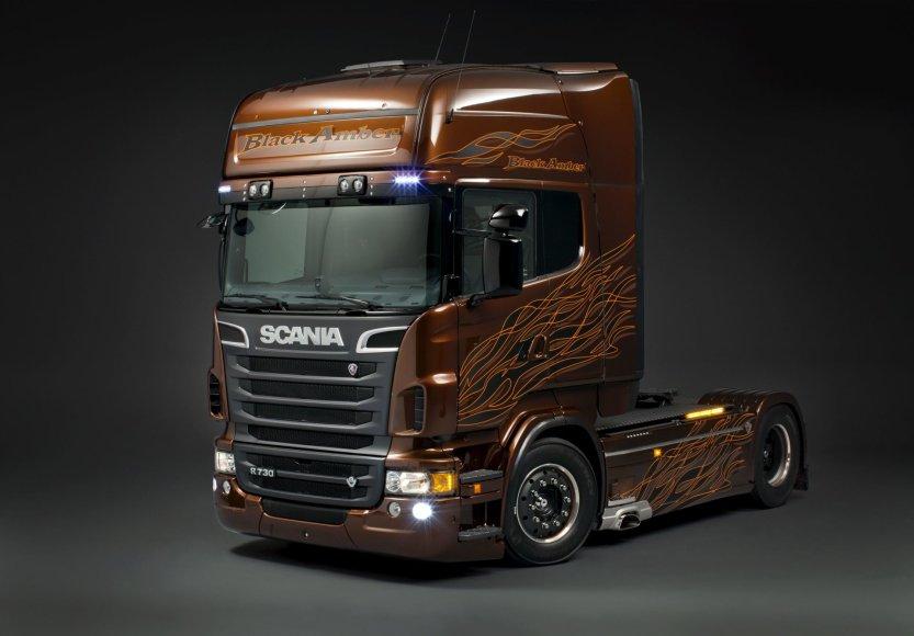 """""""Scania Amber Black"""""""