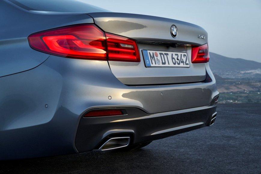 BMW nuotr./Septintos kartos BMW 5