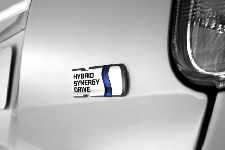 """Hybrid Synergy Drive"" logotipas"
