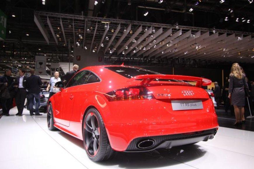 """Audi TT RS Plus"""