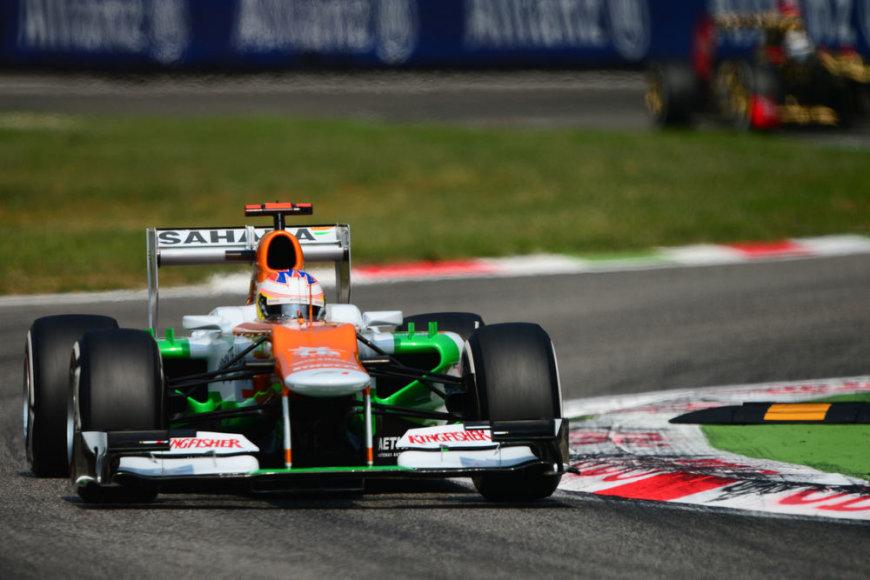 "Paulas di Resta, ""Force India"""