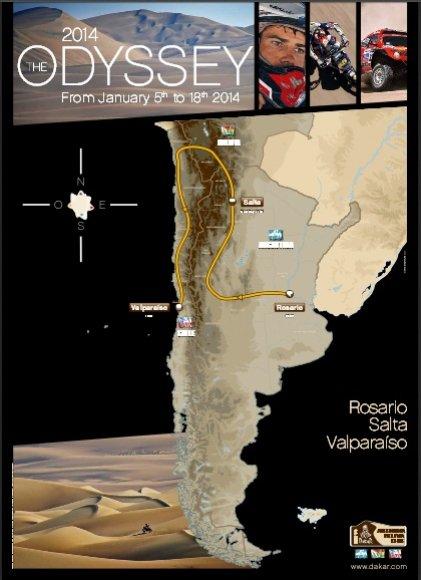 Dakaro 2014-ųjų žemėlapis