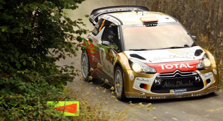 "Lietuvių apsilankymas WRC etape ""ADAC Rallye Deutschland"""