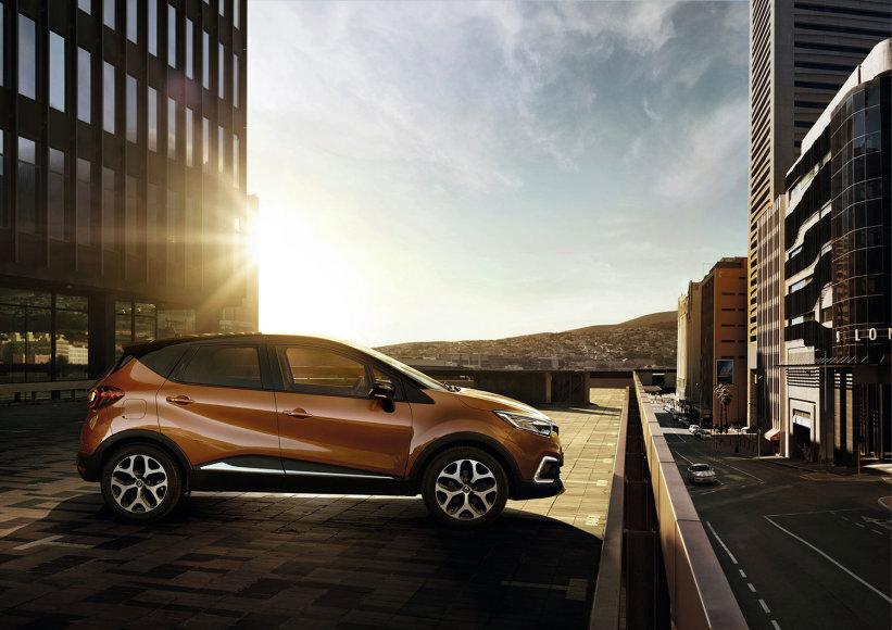 "Atnaujintas ""Renault Captur"""