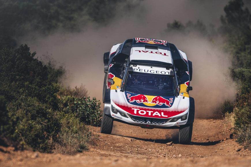 "Flavieno Duhamelio / ""Red Bull Content Pool"" nuotr./""Peugeot 3008 DKR Maxi"""