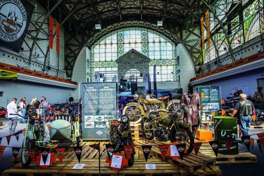 """Harley-Davidson"" nuotr./""Harley-Davidson"" jubiliejus Prahoje"