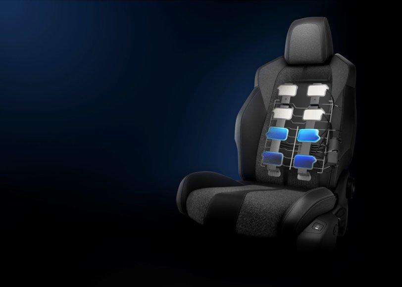 """""""Peugeot 3008"""" sėdynė"""