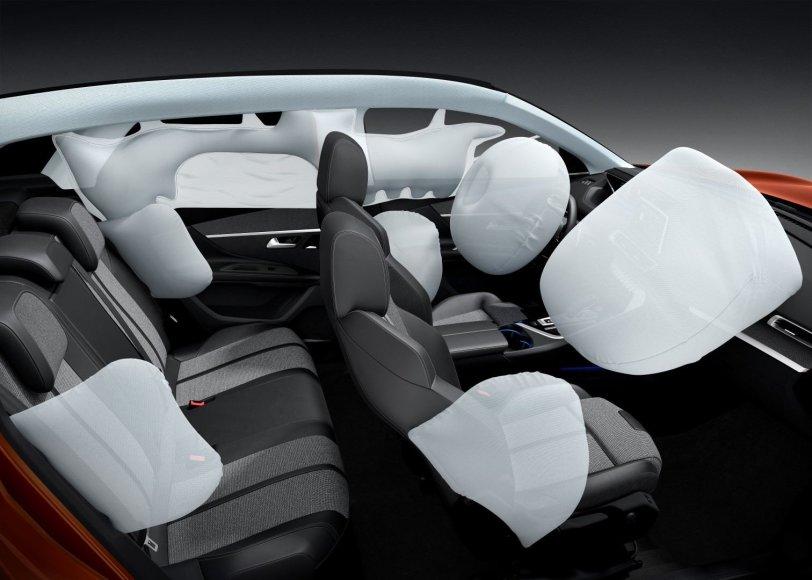 """Peugeot 3008"" oro pagalvės"