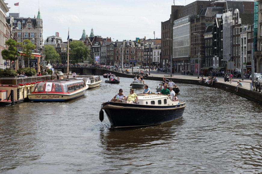 Alfredo Pliadžio nuotr. /Amsterdamas pro fotografo Alfredo Pliadžio objektyvą