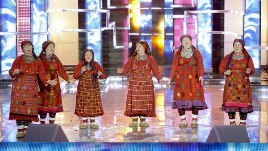 "Rusijai ""Eurovizijoje"" atstovaus močiutės ""Buranovskije babuški"""