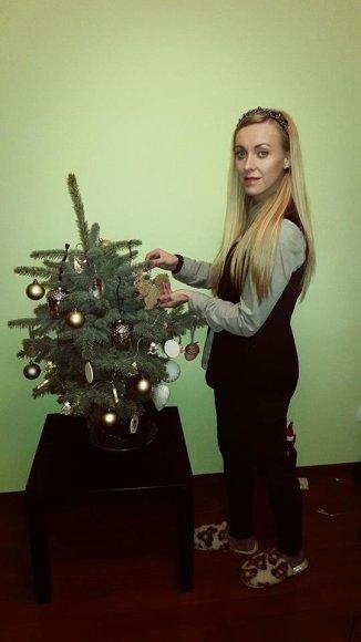 Asmeninio albumo nuotr./Baiba Skurstene-Serdiukė