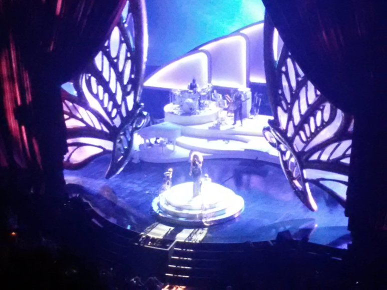 Asmeninio albumo nuotr./Jogaila Morkūnas Las Vegase lankėsi Mariah Carey koncerte