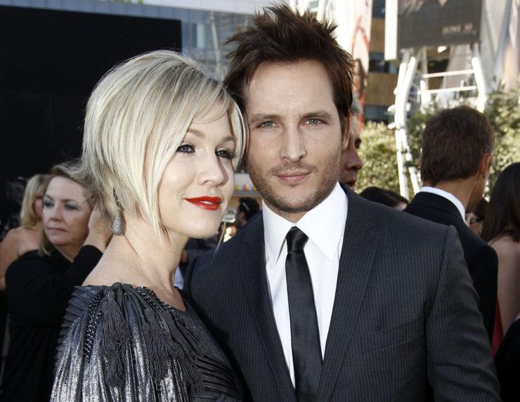 Aktorius Peteris Facinelli su savo žmona Jannie Garth