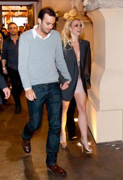 Britney Spears su savo sužadėtiniu Jasonu Trawicku